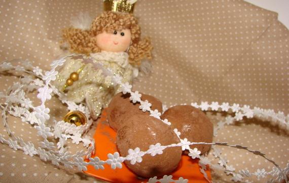 Sladké marcipánové brambory