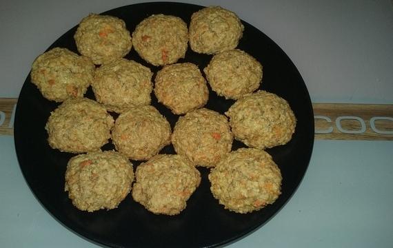 Ovesné mrkvové sušenky