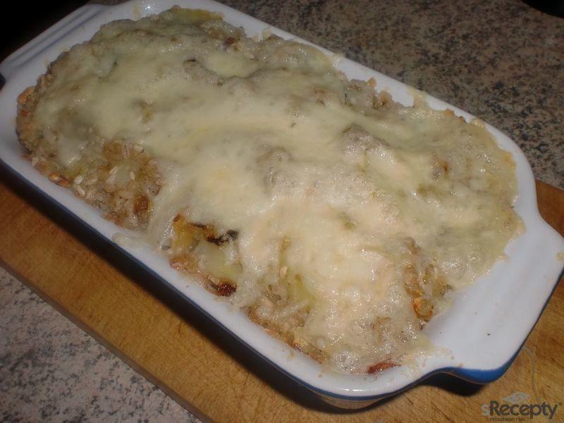 Šunkové brambory s pohankou