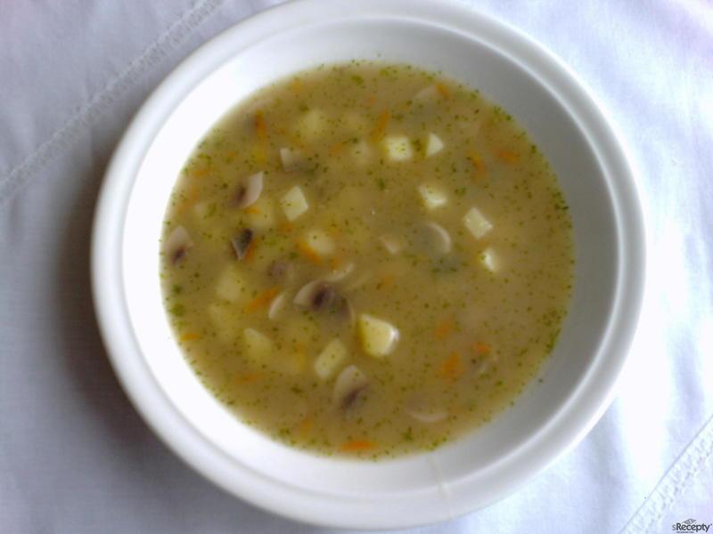 Žampiónová polévka