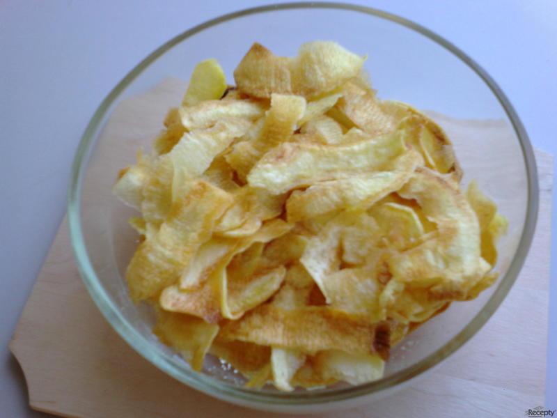 Smažené škrábané brambory