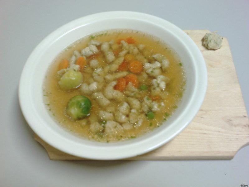 Kuřecí masová zavářka do polévky