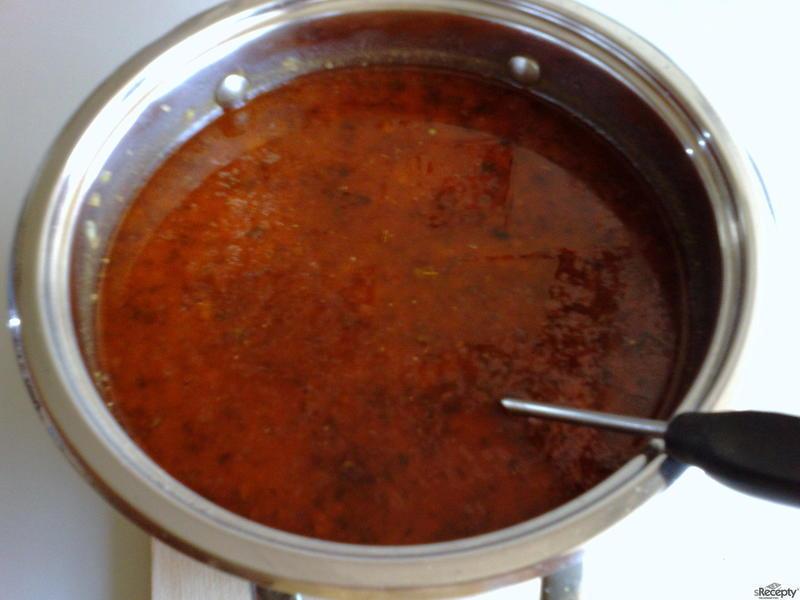 Gulášová polévka - pikantní