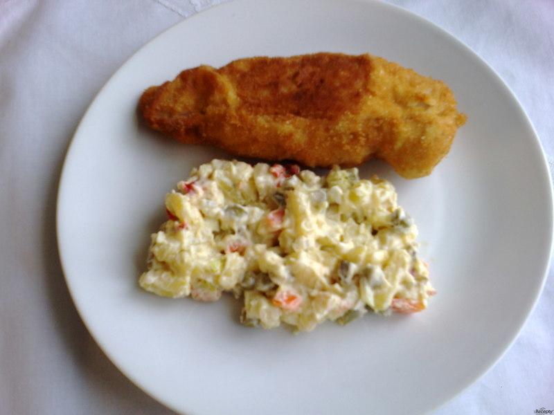 Smažené kuřecí řízky Schwarz