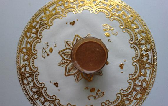 Vaječný koňak čokoládový