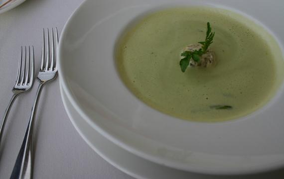 Lehká večeře? Krémová polévka