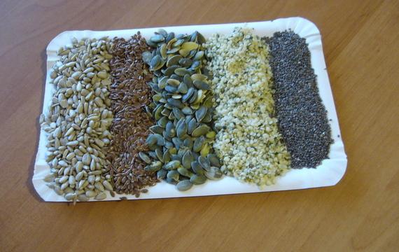 Semínka - vynikající doplněk zdravého stravování