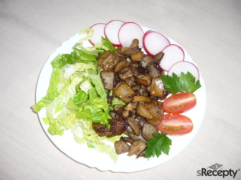 Zdravé škvarky z hlívy
