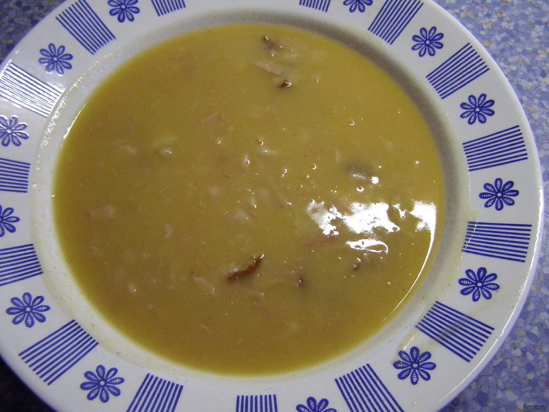 Čočková polévka se zeleninou