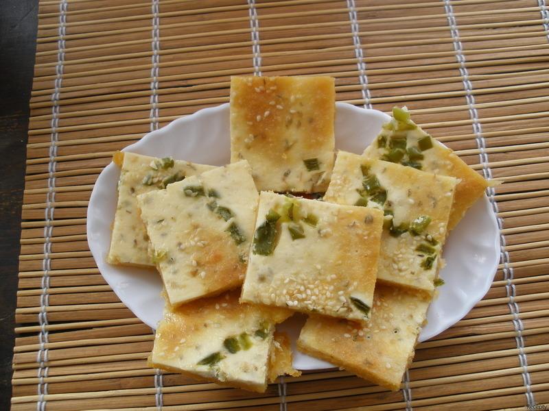 Křehký sýrový koláč