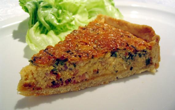 Quiche - skvělý slaný koláč