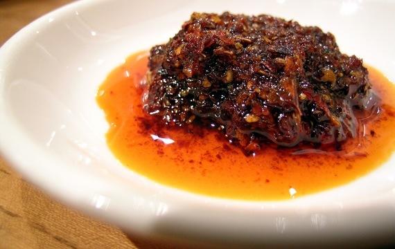 Harissa - ostrá chilli pasta