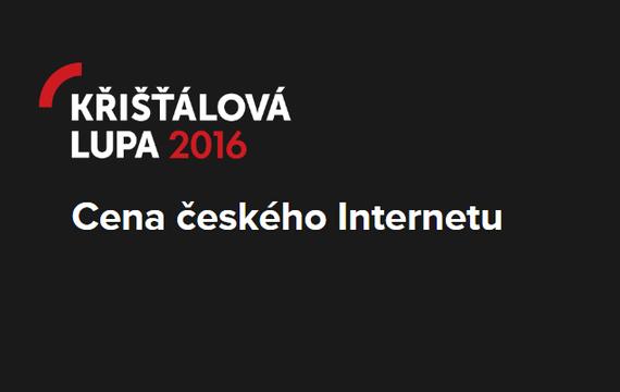 Křišťálová lupa 2016 hlasujte!