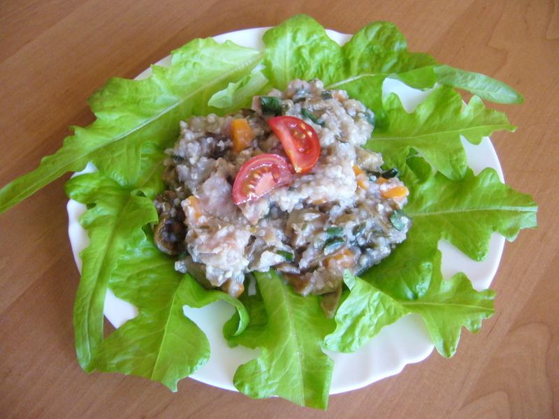 Pohankové rizoto s hlívou a zeleninou