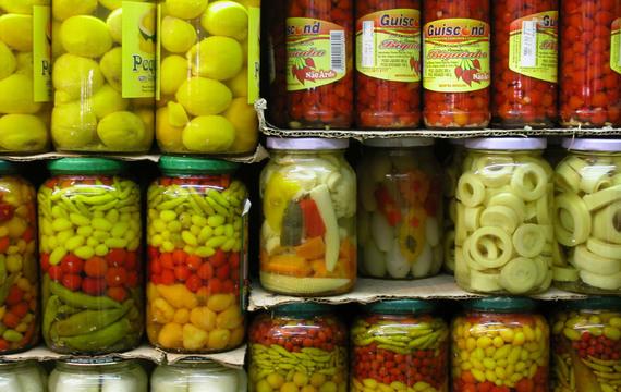 """""""Pickles"""" - domácí kvašená zelenina"""