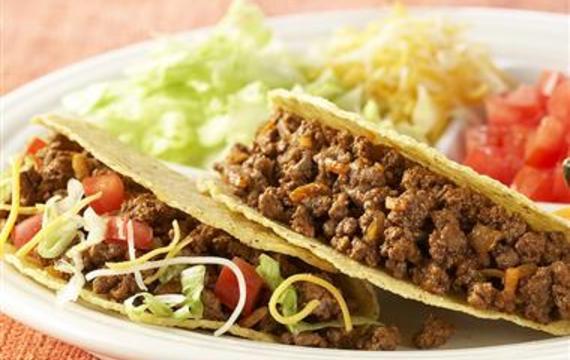 Tacos s hovězím masem