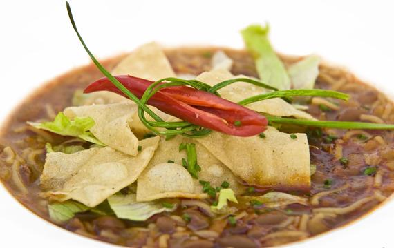 Mexická polévka I.