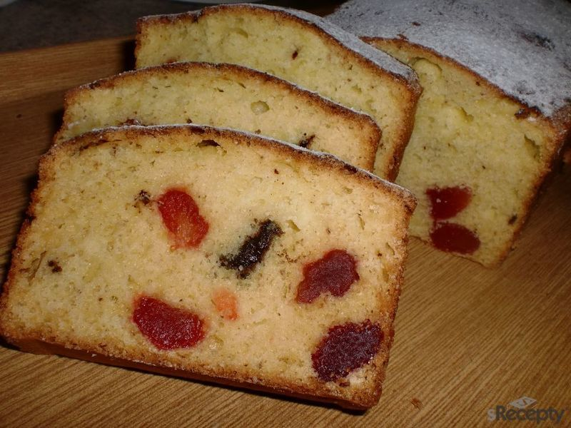Chlebíček s brusinkami