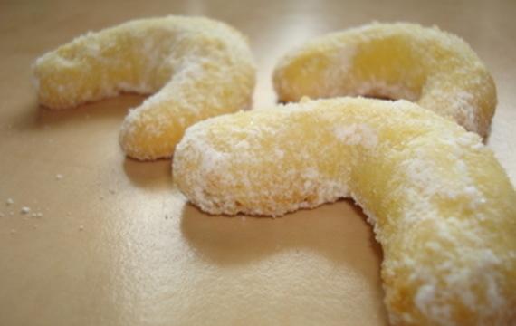 Božské vanilkové rohlíčky