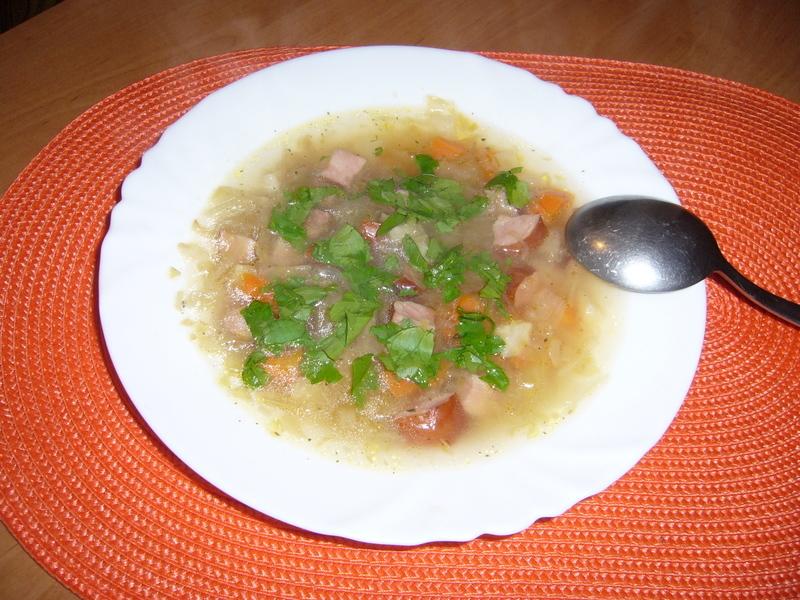 Vyprošťovací zelná polévka