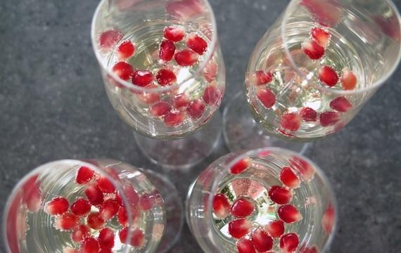 Šampaňské v kuchyni
