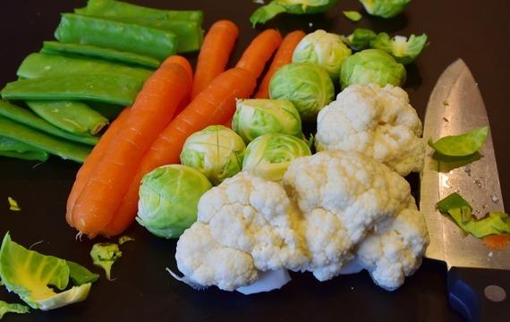 Zimní zelenina na zahřátí