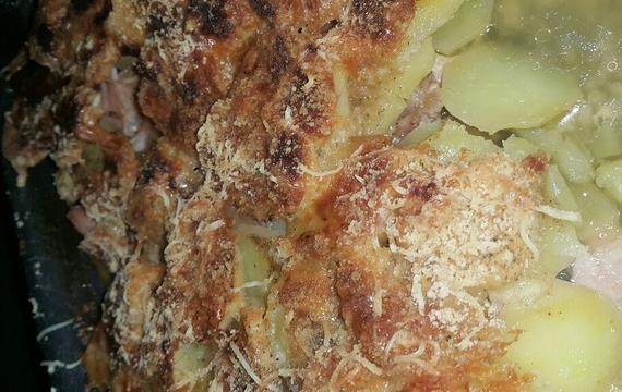 Vepřové v sýrové krustě