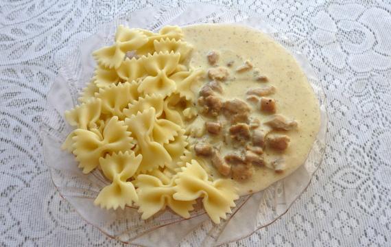 Kuřecí kousky se sýrem