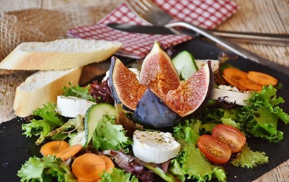 Křupavé zeleninové salátky