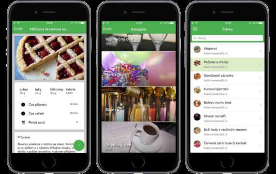 Už i v App Store naleznete skvělou aplikaci na vaření!