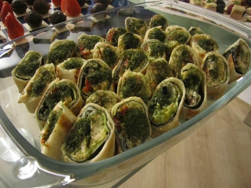 Zapečené tortilly s brokolicí a čedarem