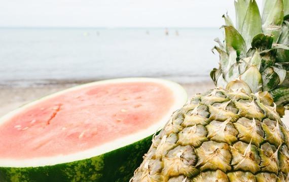 Bowle v melounu
