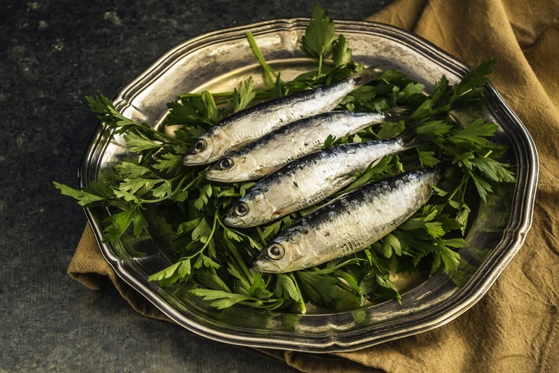 Zapečené sardinky