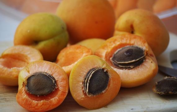 Meruňkový kompot s peckami