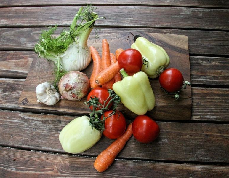 Fenyklovo-zelný salát