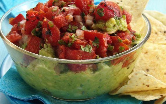 Guacamole-avokádová salsa
