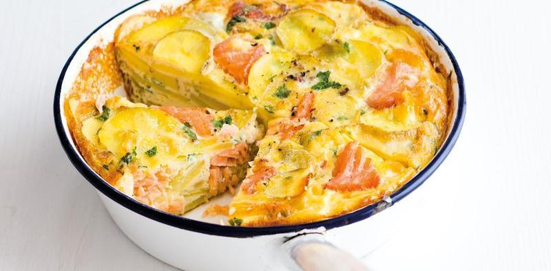 Bramborová frittata se zeleninou