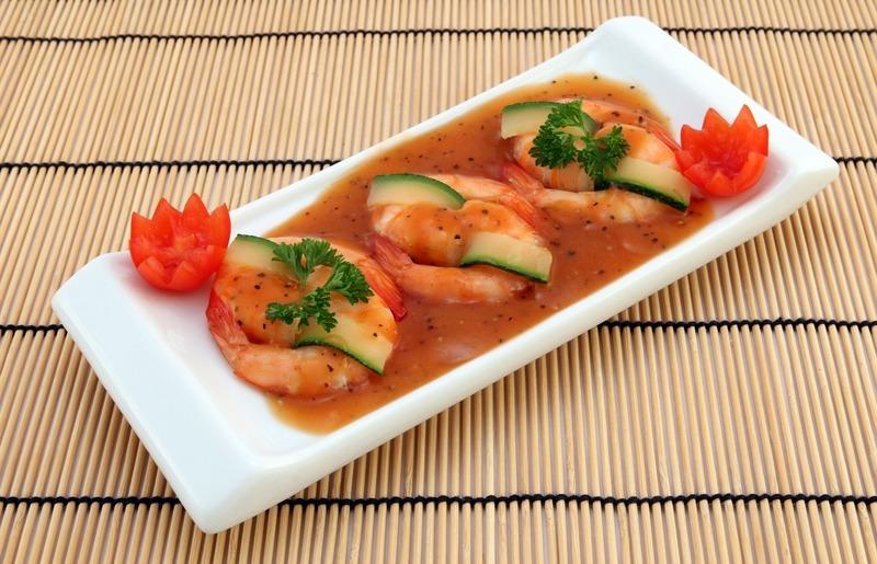 Sečuánské krevety