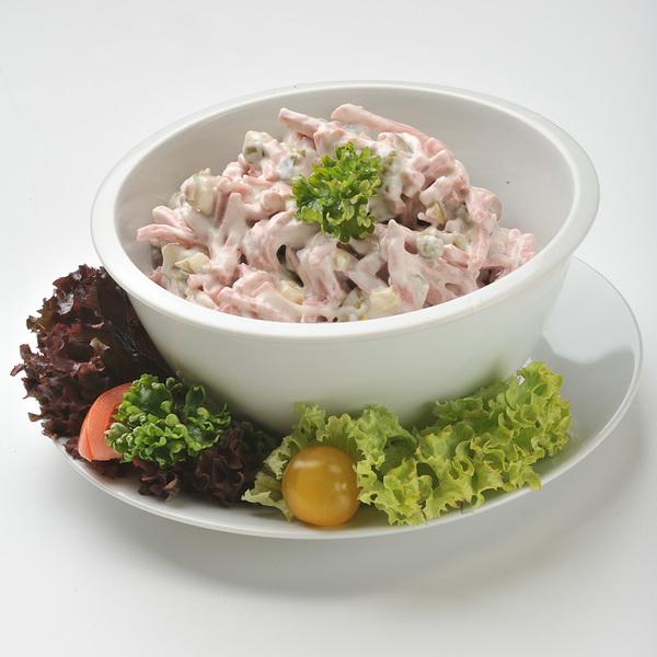 Šunkovo-křenový salát