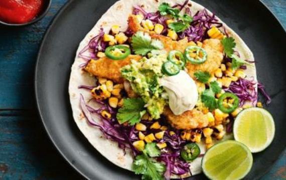 Mexické rybí tacos