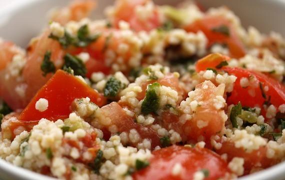 Kyselý kuskusový salát