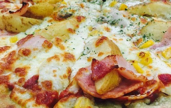 Pizza s bramborami