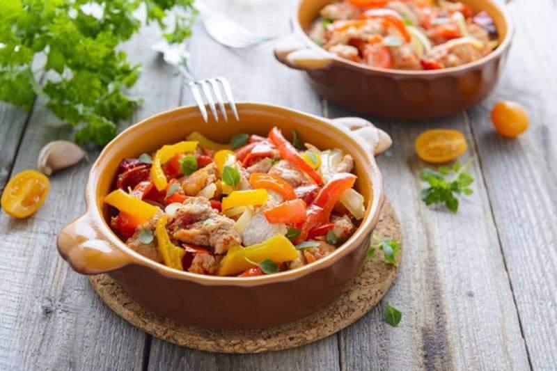 Zeleninové ragú s rajčaty