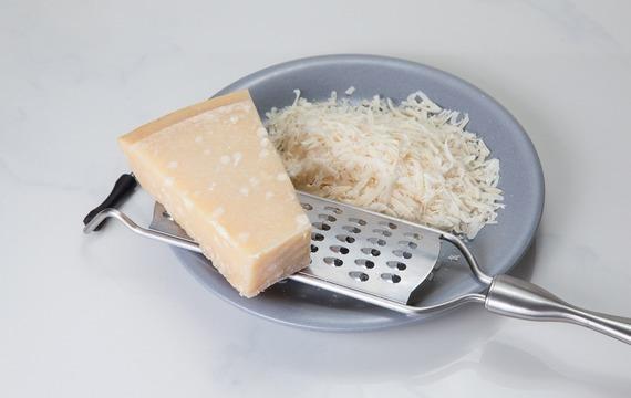 Parmazánové passatelli s telecím