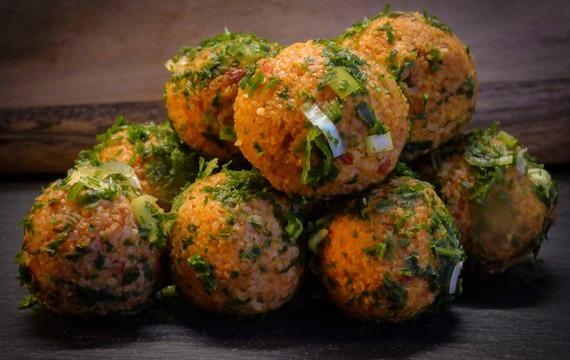 Bulgurový salát s dýní a fetou