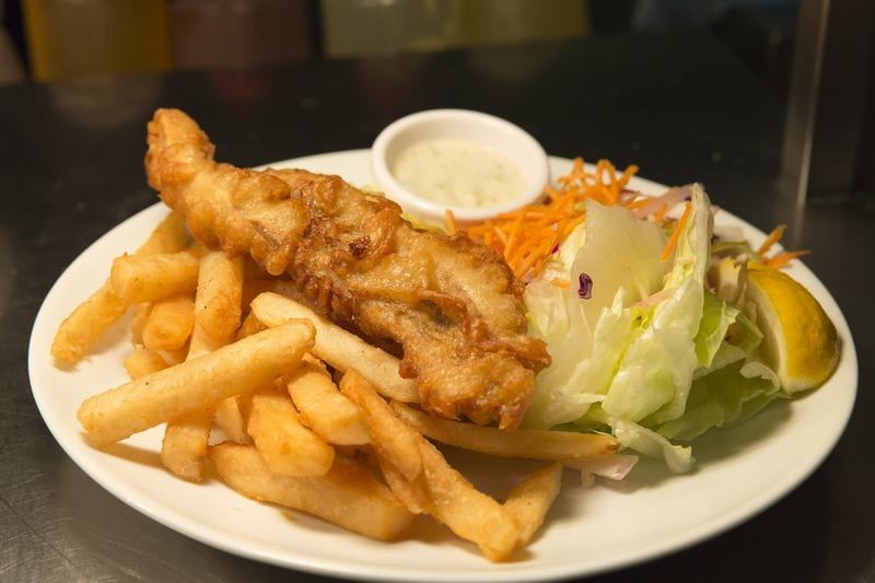 Zdravé fish & chips
