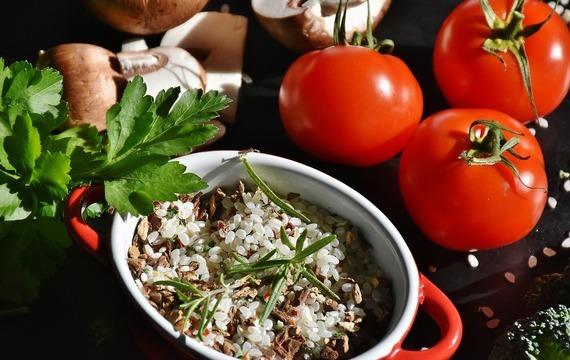 Krémové rajčatové rizoto