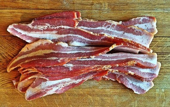 Perlička ve slaninovém kabátku
