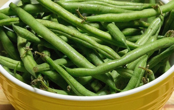 Kuřecí pilaf se zelenými fazolkami
