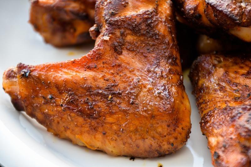 Pečené kuře s paprikami a fetou